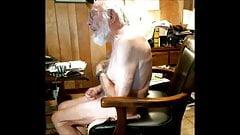 grandpas hairy chest
