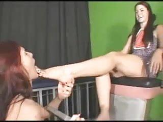 Mistress Enjoys Having Her Feet Licked