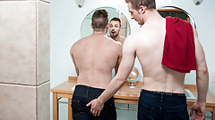 Gay stepbrothers - Blake Hunter and Ty Derrick