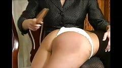 adorable cotton panties spanking wedgie