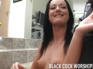 Watch me taking on two big black cocks