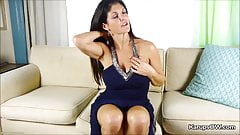Busty Milf Coralyn Jewel Hot Finger Pussy