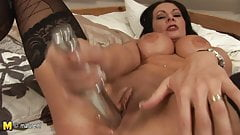 Hot mother showing us her dirty mind