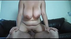 Huge natural BOOBS and real orgasms