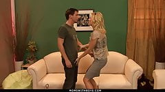 MILF Holly Sampson Fucks Her New Husband's Grandson