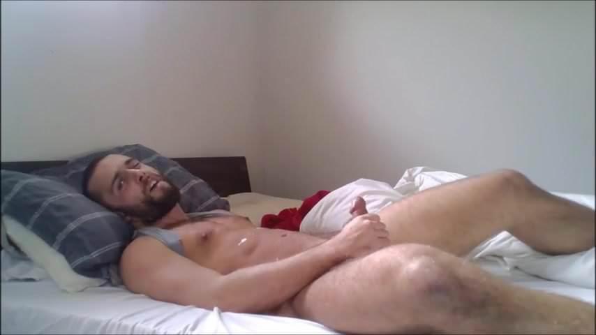 hairy gay men masturbating