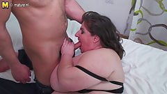 breasted mature BBW