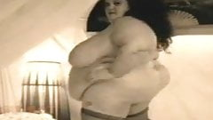 SSBBW Stripping Love Her Huge Belly
