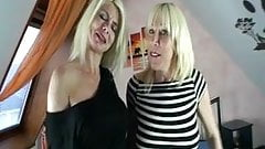 Two german Piercing Milfs