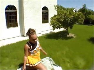 Teen moning - Ebony cheerleader mone