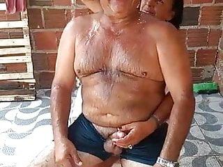 funny old brasilian couple