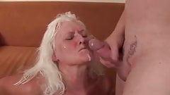 Cock hungry granny