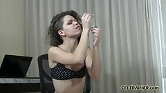 You are going to be my personal cum piggy CEI