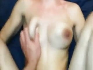 Great amateur fuck ends with cream pie