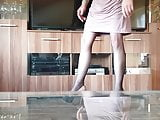 Neue Heels und Kleid