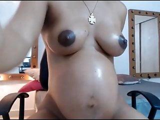 Ashly Pregnant Latina Fat Pussy