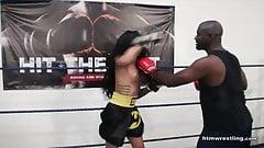 Maria Marley Interracial Mixed Boxing Male vs Female
