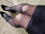 japanese crossdresser leather skirt
