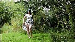 EH taking off her dress - no sound