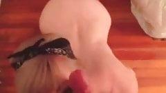 Teen Head #53 (Blonde showing her Hot Ass as she Blow)