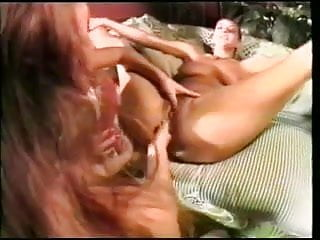 three lesbians, two holes, one dildo