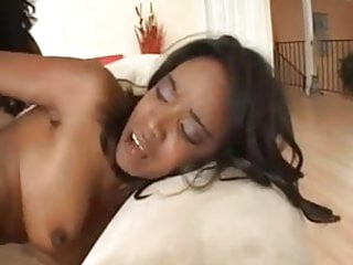 Kapri Styles And Share A White Cock