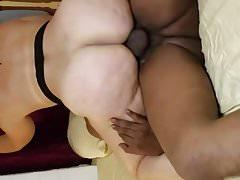 BBC Creampies my Blonde Slut Wife
