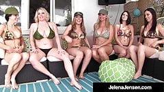 Penthouse Pet Jelena Jensen Has Smoking Hot 6 Girl Orgy!