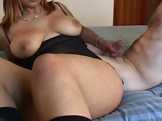 She wants to play and I come to her fantastic natural tits