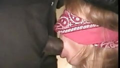 Blindfolded Slut WIfe Owned by BBC