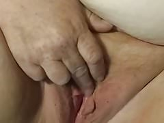 Red playing with her pussy