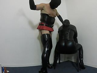 Preview 6 of Crossdresser spanking sub CD