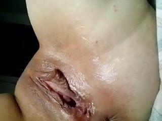 Real Home video - Milf Dildo Wet Cum 4