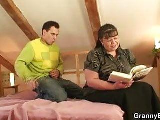 Busty bookworm bitch seduced sex