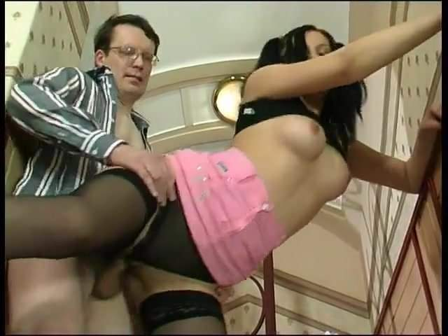Russian bespectacled botan hard fucks whore on call