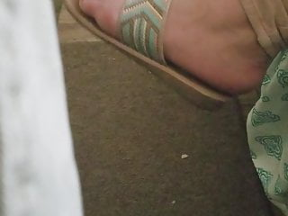 Feet Candid Friends Sandals and Toes