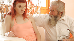 DADDY4K. Adorable Vanessa comes closer to her boyfriends...
