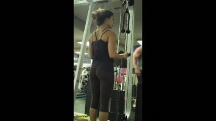 Muscle women in legging porn can suggest
