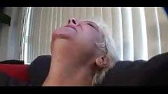 Tattoo Granny masturbation