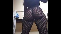 Thick big booty stripper