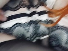 Sissy husband anal fuck with wife