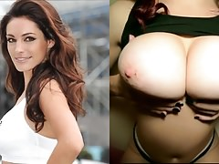 Cumshot on Kelly Brook's tits (use your imagination!)