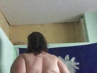 White bbw sucking and riding my bbc