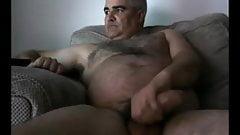 UK Daddy Wank his Fat Cock again