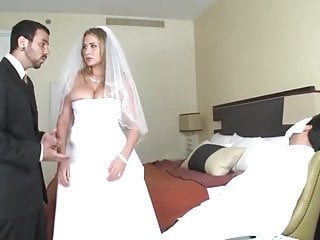 Alanah get fucked on her wedding night