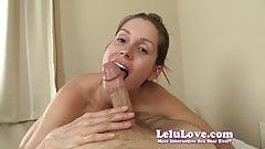 Lelu Love-POV Front Back Riding Biting Creampie
