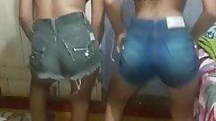 teens ass dance