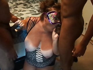 Cheating Whore Sucking Black Cocks