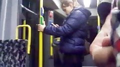 open dick in tram