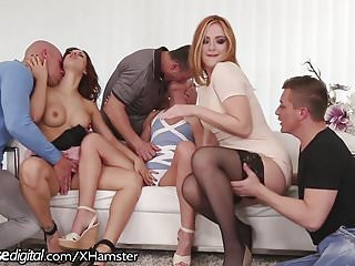 DogHouse Swingers Group Fuck in the Ass